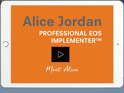 Alice Jordan EOS Introduction Video