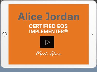certified eos implementer alice jordan